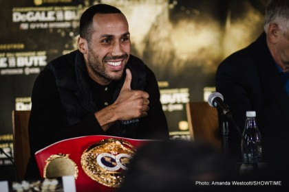 DeGale: Happy to Fight GGG at 168