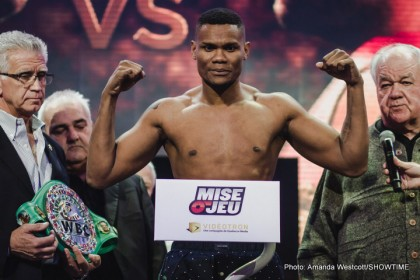 Eleider Alvarez fights Robert Berridge this Friday