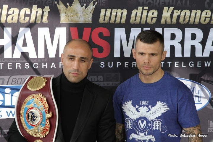 Arthur Abraham Martin Murray Boxing News Boxing Results