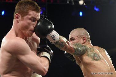 "Cotto vs. Alvarez Miguel Cotto Saul ""Canelo"" Alvarez Boxing News"