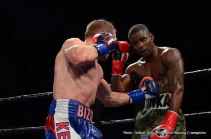 Fredrick Lawson, Kevin Bizier - Boxing News
