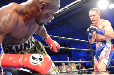 Fredrick Lawson Kevin Bizier Boxing News Boxing Results