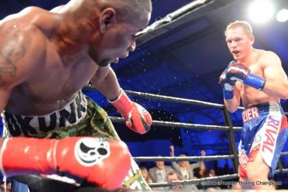 Kevin Bizier defeats Fredrick Lawson