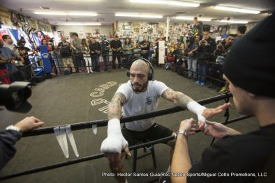 "Miguel Cotto Saul ""Canelo"" Alvarez Boxing News"