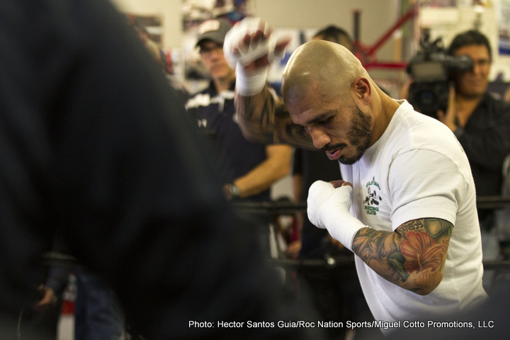 "Miguel Cotto Saul ""Canelo"" Alvarez Boxing News"
