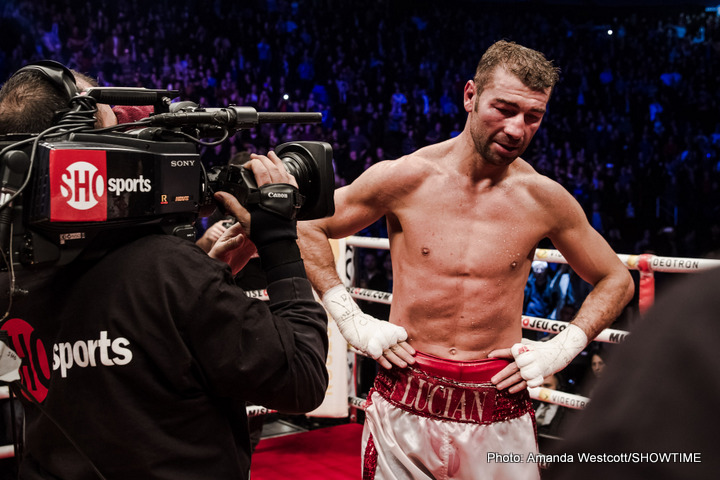 James DeGale, Lucian Bute - IBF super middleweight champion James DeGale (22-1, 14 KOs) retained his IBF title tonight with a less than thrilling 12 round unanimous decision win over 35-year-old Lucian Bute (35-3, 25 KOs) from the Vidéotron Centre in Quebec City, in Quebec, Canada. Bute, 35, had the crowd on his side the entire fight, and they did a good job of motivating him during the championship rounds.