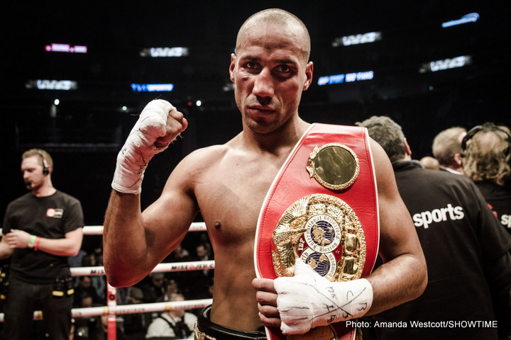 Badou Jack, James DeGale - IBF 168 lb champion, James DeGale, has restated his intention to press on with plans for a unification fight with WBC belt holder, Badou Jack, in the wake of the Londoner's hard-fought points victory of veteran former champion, Lucian Bute at the weekend.