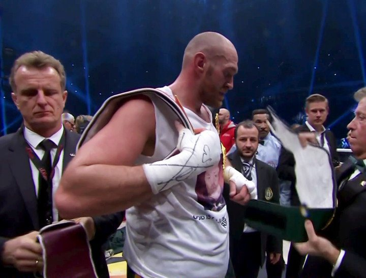 Klitschko vs. Fury, Tyson Fury, Wladimir Klitschko - New lineal heavyweight champion, Tyson Fury, has stated that his dethroning of dominant former champion, Wladimir Klitschko, was a moment a long time in coming, going on to say that the Ukrainian was 'forced into' the fight, and had been avoiding him for 'a long time.'