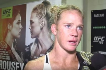An Open Letter to Holly Holm