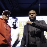 Jean Pascal, Sergey Kovalev - Main Events and InterBox are proud to offer to boxing fans a quality card with a championship flair this January 30 at the Bell Centre. The event, which will feature the unified light heavyweight world championship grudge match between WBA, WBO and IBF title holder Sergey Kovalev and former world champion Jean Pascal, will also put two other titles on the line : Dmitry Mikhaylenko against Ray Robinson for the USBA welterweight belt as well as Renan St-Juste against Francis Lafrenière for the International IBF middleweight title.