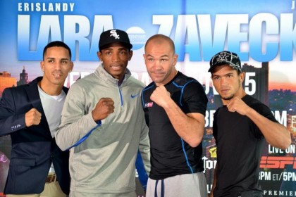 Erislandy Lara talks Jan Zaveck fight