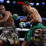 "Daniel Jacobs - (Photo credit: Esther Lin/SHOWTIME) Former WBO 160lb champion Peter ""Kid Chocolate"" Quillin (32-1-1, 23 KOs) tasted defeat for the first time in his career on Saturday night in getting blasted out by the hard hitting WBA ""regular"" middleweight champion Daniel Jacobs (31-1, 28 KOs) in a 1st round TKO defeat in a fight between two Brooklyn natives at the Barclays Center in Brooklyn, New York."