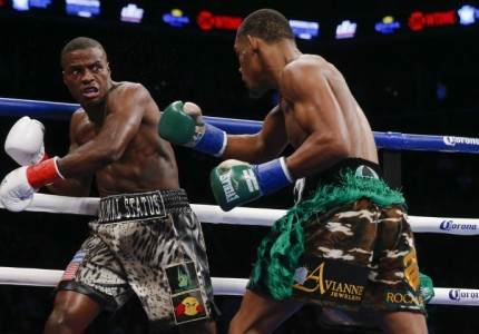 Jacobs destroys Quillin in 1st round TKO