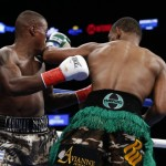 Daniel Jacobs - (Photo credit: Esther Lin/SHOWTIME) BROOKLYN (Dec. 6, 2015) – WBA Middleweight World Champion Daniel Jacobs shocked undefeated challenger Peter Quillin with a first round TKO in the all-Brooklyn main event of SHOWTIME CHAMPIONSHIP BOXING on Saturday in front of 8,443 fans at Barclays Center.