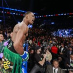 "Daniel Jacobs - Saturday night at the Barclays Center in Brooklyn, New York, Daniel ""Miracle Man"" Jacobs (31-1-0, 28 KOs) steamrolled former undefeated WBO 160lb champion Peter ""Kid Chocolate"" Quillin (32-1-1, 23 KOs) with a thrilling first round knockout. The bout between the two Brooklyn natives was a major win for Jacobs, giving him significant reason to claim ""top dog"" status in the burgeoning discussion on who represents the class of the middleweight division."
