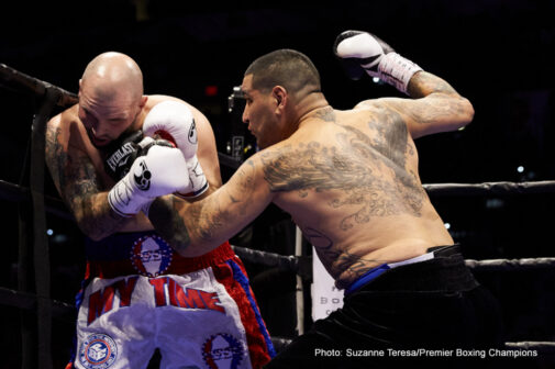 """Chris Arreola, Mario Barrios, Omar Figueroa, Victor Ortiz - """"I always appreciate guys that are in good shape, but this pace is unbelievable.""""– """"Sugar"""" Ray Leonard on Figueroa, Jr.-DeMarco"""