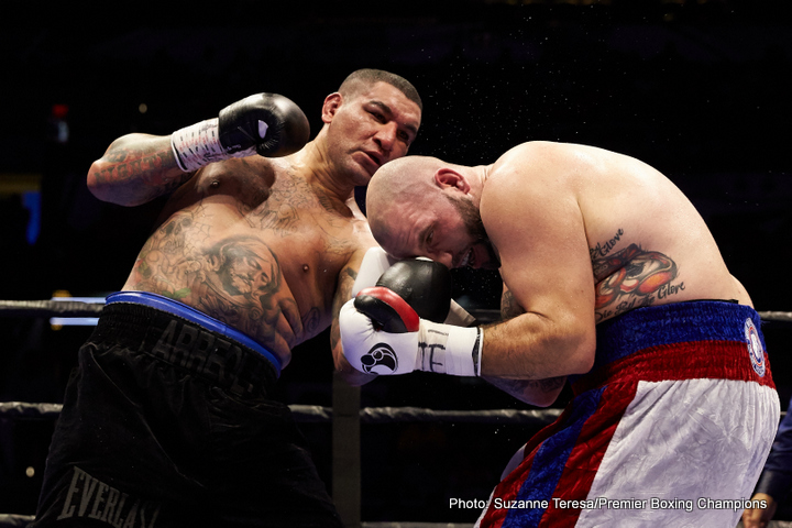 Chris Arreola Travis Kauffman Boxing News