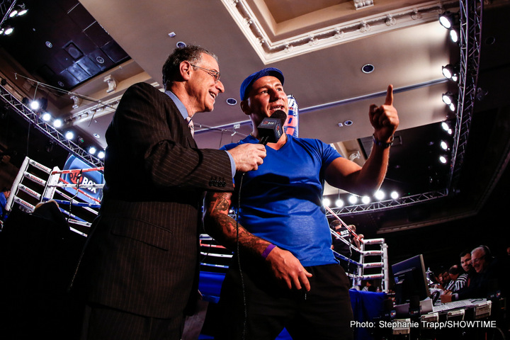 Deontay Wilder - Polish southpaw Artur Szpilka was interviewed by ShoBox expert analyst Steve Farhood during Friday's telecast as he prepares to challenge undefeated WBC Heavyweight World Champion Deontay Wilder on Saturday, Jan. 16 on SHOWTIME.  During the interview, Szpilka warned Wilder that he's coming to take his belt: