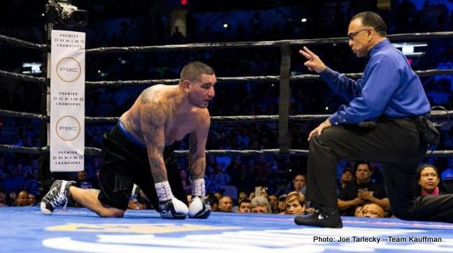Travis Kauffman Boxing News