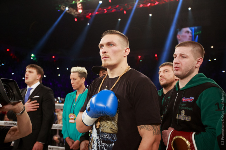 Usyk vs  Mchunu on December 17