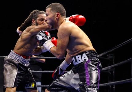 Omar Douglas beats Frank De Alba