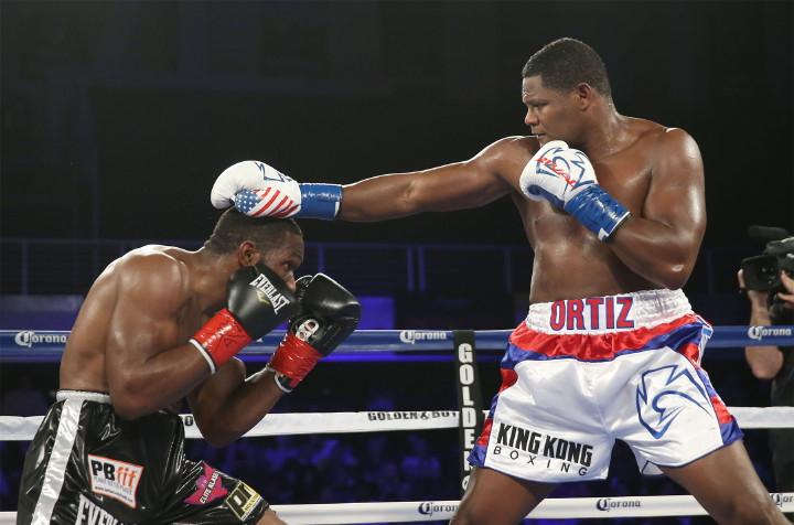 Bryant Jennings Luis Ortiz Boxing News Boxing Results