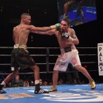 """Denis Shafikov - (Photo Credit: Jann Hendry/Premier Boxing Champions) Las Vegas (December 18) - The """"force"""" was with Cuban star and newly crowned lightweight world champion Rances Barthelemy (24-0, 13 KOs) as he won a 12-round unanimous decision over Russian southpaw Denis Shafikov (36-2-1, 19 KOs) in the headlining bout of the final Premier Boxing Champions (PBC) on Spike fight card of 2015. The four-fight telecast, which was supported by non-televised fights featuring some of Mayweather Promotions' rising stars, took place at the Pearl at Palms Casino Resort in Las Vegas."""