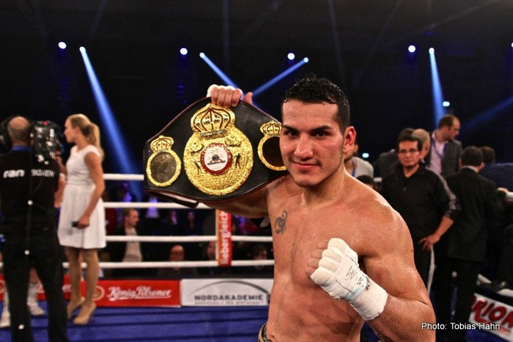Dennis Hogan, Jack Culcay - Jack Culcay retained his interim WBA World Light Middleweight title with a unanimous points decision against the previously unbeaten Dennis Hogan last night at the Inselparkhalle in Hamburg, Germany.