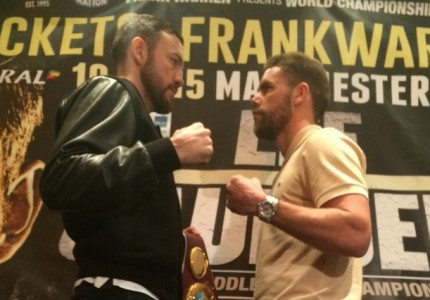 Lee vs Saunders: Andy Lee turns nasty