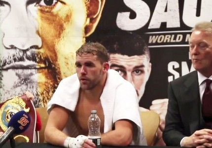 Billy Joe Saunders wants Gennady Golovkin Super-Fight in the summer – but has to get past Max Bursak first
