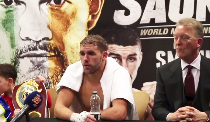 Avtandil Khurtsidze - WBO Middleweight World Champion Billy Joe Saunders will no longer feature on the Saturday 8th July show at the Copper Box Arena after his mandatory challenger Avtandil Khurtsidze was arrested in New York.