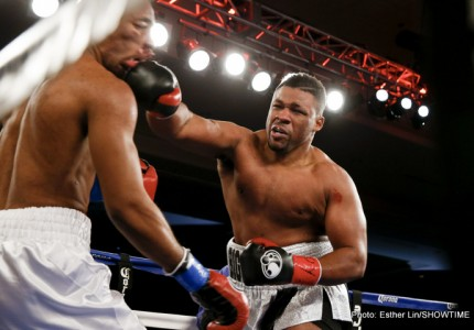 Jarrell Miller, the best young heavyweight up-and-comer on the scene?