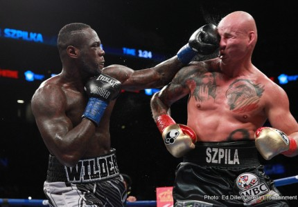 Wilder says he will emulate the tactics Klitschko used against Povetkin