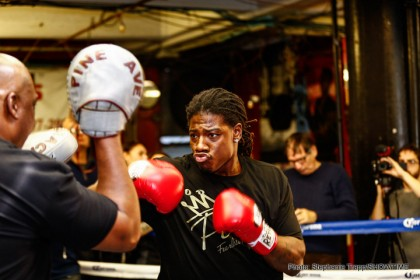 1-CHARLES MARTIN-MEDIA WORKOUT-01122015-7198