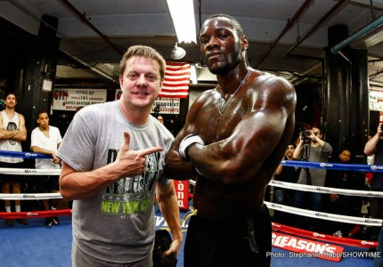 "Deontay Wilder says he's ""re-doing Rocky IV"" in Russian defence against Povetkin"