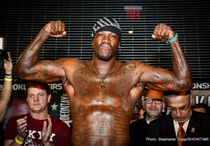 Wilder vs Povetkin getting closer, May 21st date in play for New York