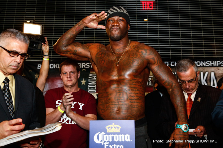 "Deontay Wilder - As fight fans are sure to be aware, reigning WBC heavyweight king Deontay Wilder has been granted permission by the Mauricio Sulaiman-led organisation to make another voluntary defence while the whole Alexander Povetkin mess gets thoroughly investigated. Sulaiman wrote, in his official statement regarding the situation that saw the May 21st Wilder-Povetkin mandatory fight get called off (whether or not it has been called off for good remains to be seen) how Wilder, ""has the right to make a voluntary defence of his title as reasonably soon as possible."""