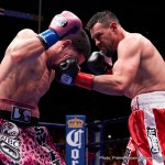 """Aron Martinez -  Before a crowd of 12,052 at STAPLES Center in downtown Los Angeles, Danny """"Swift"""" Garcia, (32-0, 18 KOs) of Philadelphia won a unanimous 12-round decision over Gilroy, Calif.'s Robert """"The Ghost"""" Guerrero, (33-4, 18 KOs). Scores were 116-112 on all three judges' scorecard."""