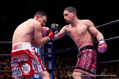 Amir Mansour Aron Martinez Danny Garcia Dominic Breazeale Robert Guerrero Sammy Vasquez Boxing News Boxing Results Top Stories Boxing
