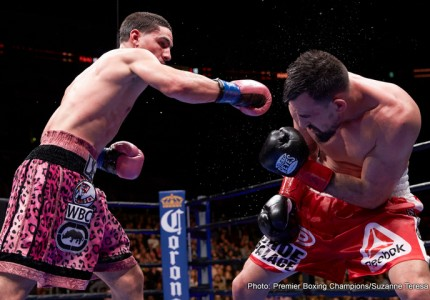 Ruben Guerrero: All Danny Garcia did was run and hold all night