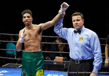 Jamal James beats Javier Molina; Benavidez, Plant stop opponents
