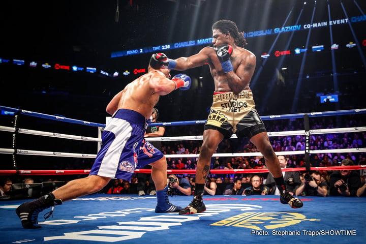 Charles Martin Tyson Fury Wladimir Klitschko Boxing News