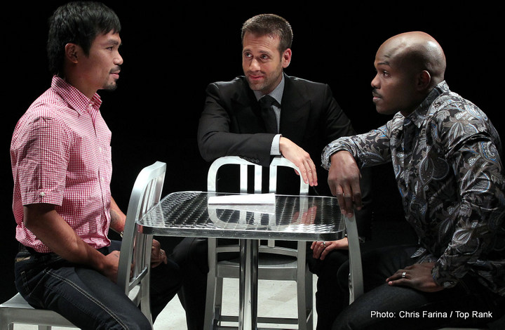 Manny Pacquiao Tim Bradley Boxing News