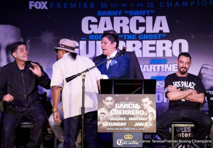 Garcia-Guerrero, Breazeale-Mansour & Martinez-Vasquez live on BoxNation