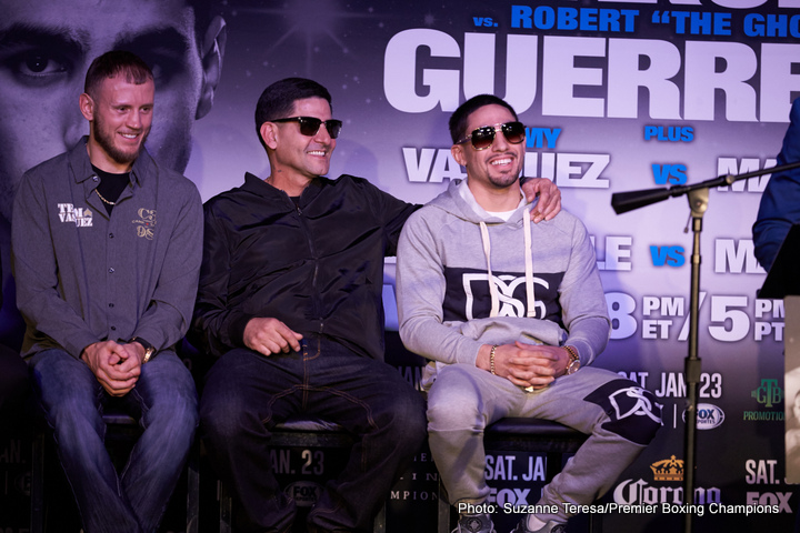 "Danny Garcia - We all know how vocal (and entertaining) Angel Garcia, father and head trainer of WBC welterweight champ Danny Garcia, can be, and with ""Swift's"" big upcoming fight against rival welterweight champ Keith Thurman set for next March, Angel has fired some serious shots. Speaking with Premiere Boxing Champions, Angel came out with a bold prediction: his son with knock the unbeaten Thurman out cold inside just five rounds on March 4."