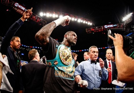 Alexander Povetkin vs. Deontay Wilder will take place in Russia