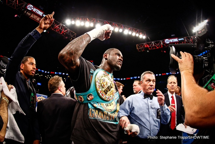 Alexander Povetkin, Deontay Wilder - A Russian promotional company World of Boxing had recently won the bidding war for the Alexander Povetkin (30-1-0) vs. Deontay Wilder (36-0-0) bout, which will now be taking place somewhere in Russia, with the Moscow Olympic Stadium probably being the likely venue.
