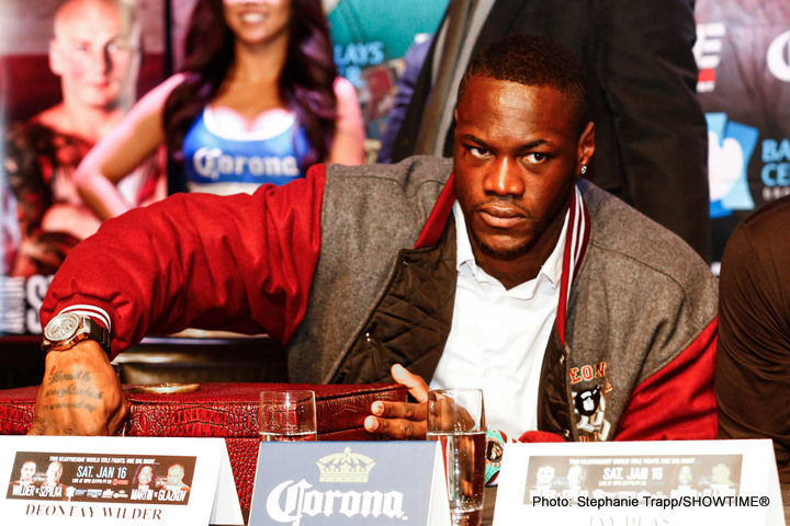 """Deontay Wilder - Though Mexican/American contender and former two-time world heavyweight title challenger Chris Arreola is, according to a number of sources, the current frontrunner to face WBC champ Deontay Wilder in his upcoming voluntary defence, promoter Lou DiBella has said that so far no choice of opponent has been decided. DiBella, speaking with Sky Sports, discussed the fact that the available opponents for the fight, targeted for July, consist of """"slim pickings."""""""