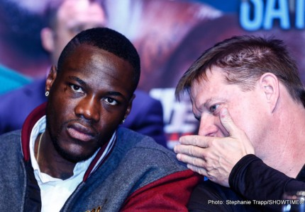 Jay Deas, trainer of WBC heavyweight king Deontay Wilder gives his take on tonight's Martin Vs. Joshua fight