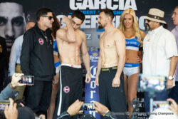 Amir Mansour, Aron Martinez, Danny Garcia, Dominic Breazeale, Robert Guerrero, Sammy Vasquez - This Saturday night, Danny Garcia meets Robert Guerrero in the main event, live on Fox from the Staples Center in Los Angeles, CA. The co-feature pits hot prospect Sammy Vasquez against hardened-vet Aron Martinez. Can Guerrero rekindle his skill set to trouble Garcia? Can Garcia get a clear win? All these questions and more will be answered on Saturday.